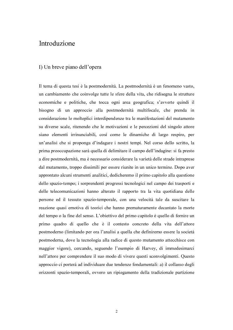 Anteprima della tesi: La postmodernità consumista. Uno studio del mondo contemporaneo attraverso il concetto di consumo, dalla vita quotidiana alle dinamiche internazionali, Pagina 1