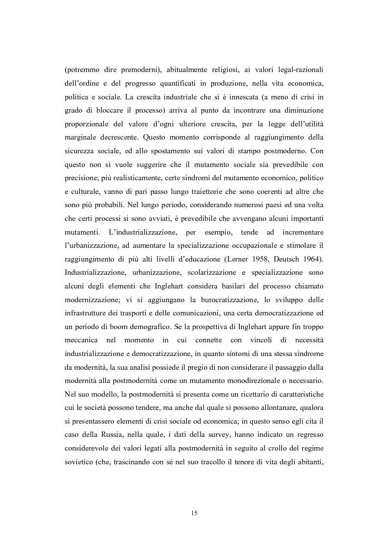 Anteprima della tesi: La postmodernità consumista. Uno studio del mondo contemporaneo attraverso il concetto di consumo, dalla vita quotidiana alle dinamiche internazionali, Pagina 14
