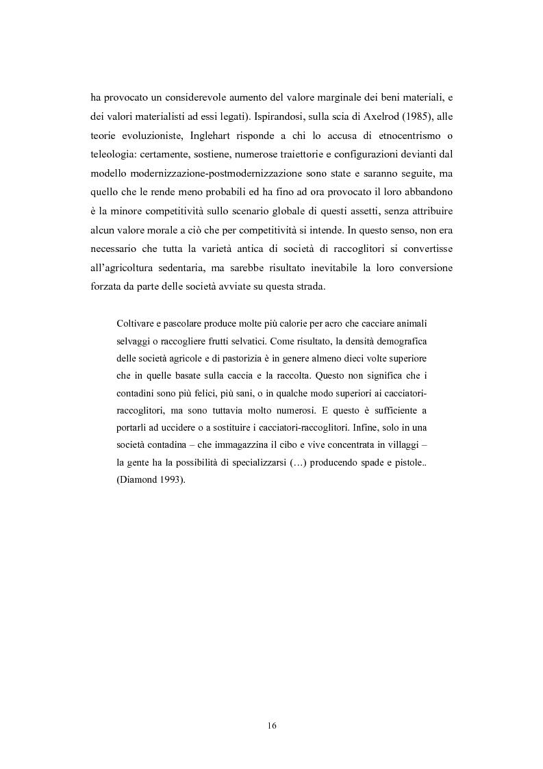 Anteprima della tesi: La postmodernità consumista. Uno studio del mondo contemporaneo attraverso il concetto di consumo, dalla vita quotidiana alle dinamiche internazionali, Pagina 15