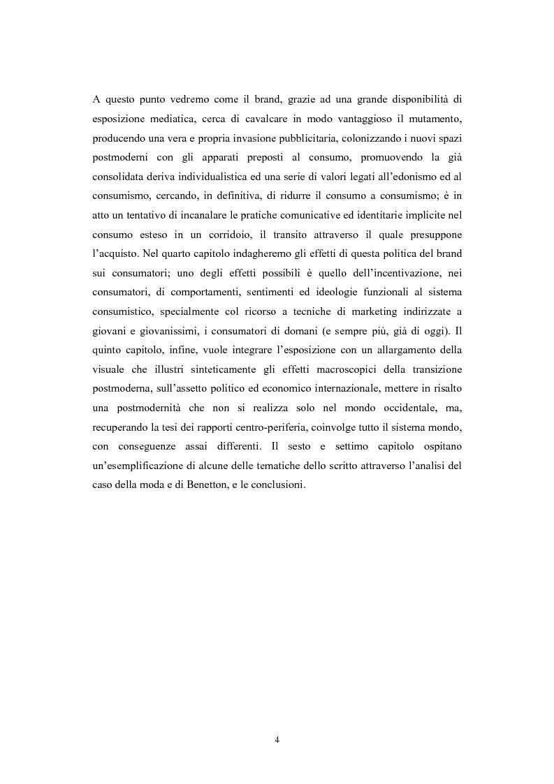 Anteprima della tesi: La postmodernità consumista. Uno studio del mondo contemporaneo attraverso il concetto di consumo, dalla vita quotidiana alle dinamiche internazionali, Pagina 3