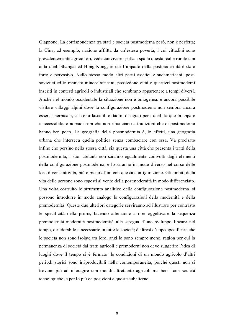 Anteprima della tesi: La postmodernità consumista. Uno studio del mondo contemporaneo attraverso il concetto di consumo, dalla vita quotidiana alle dinamiche internazionali, Pagina 7