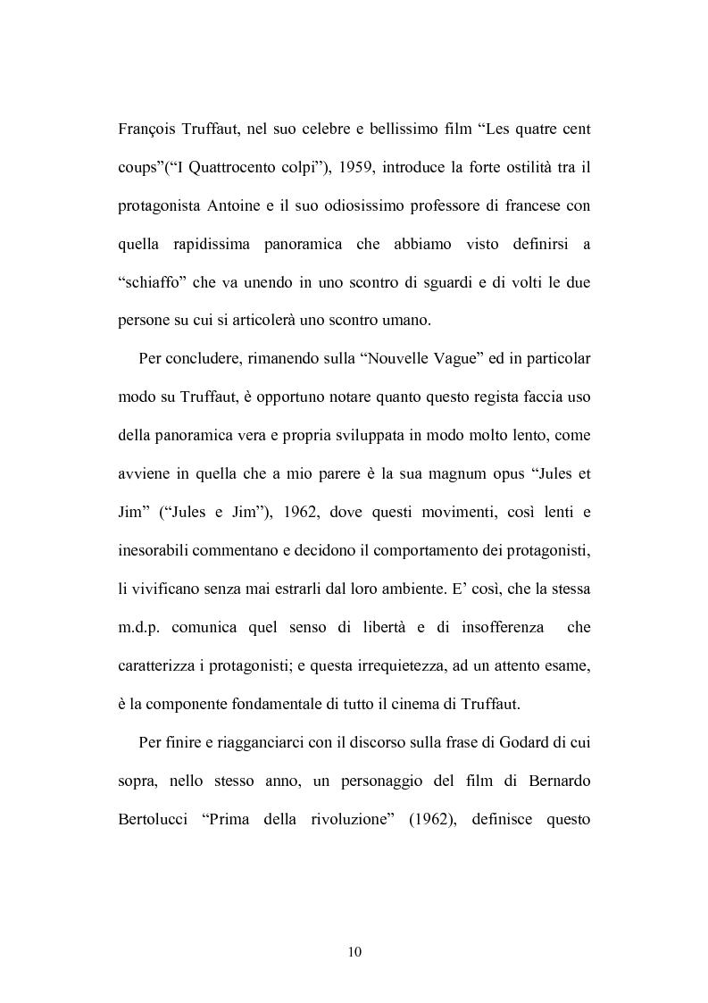 Anteprima della tesi: L'occhio che si muove - I movimenti di macchina nel cinema di Stanley Kubrick, Pagina 8