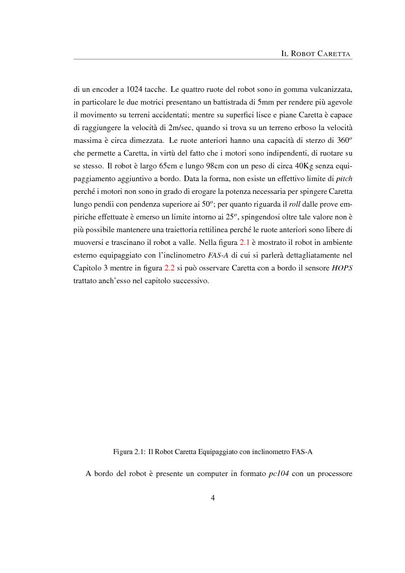 Anteprima della tesi: Algoritmi di visione stereo/omnidirezionale per la navigazione di robot autonomi, Pagina 4