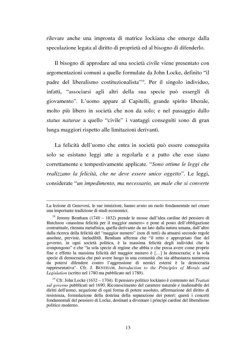 Anteprima della tesi: Domenico Capitelli: vita e studi di un liberale nel Mezzogiorno preunitario, Pagina 13