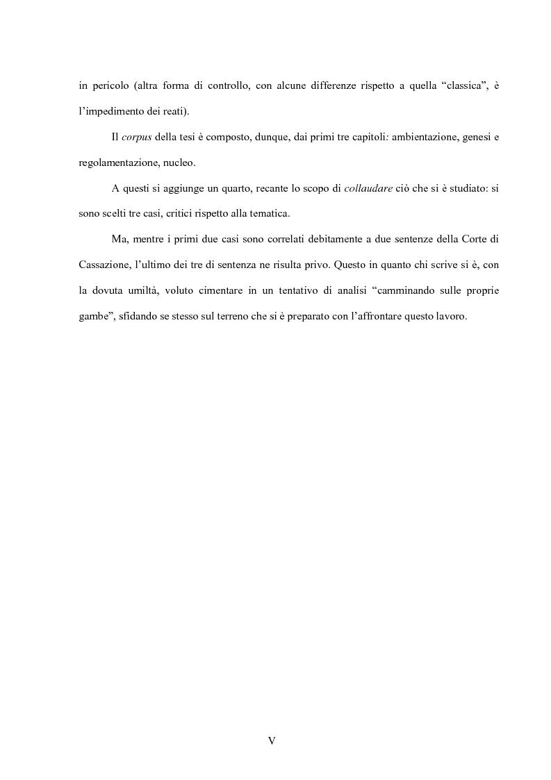 Anteprima della tesi: La posizione di garanzia nel reato omissivo improprio, Pagina 3
