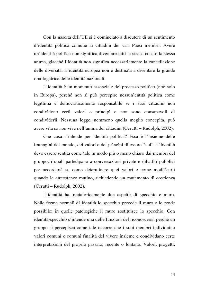 Anteprima della tesi: L' Unione Europea nelle riviste italiane, Pagina 12