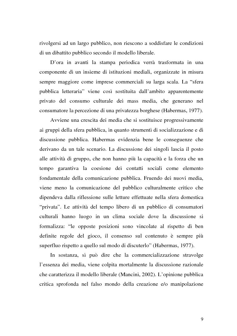 Anteprima della tesi: L' Unione Europea nelle riviste italiane, Pagina 7