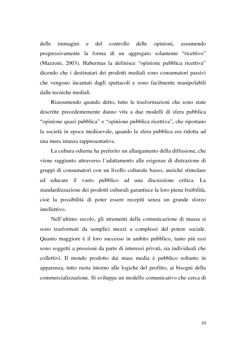 Anteprima della tesi: L' Unione Europea nelle riviste italiane, Pagina 8