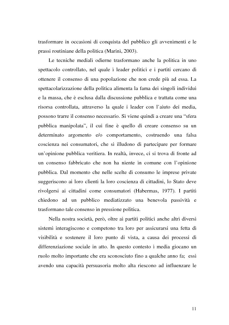 Anteprima della tesi: L' Unione Europea nelle riviste italiane, Pagina 9