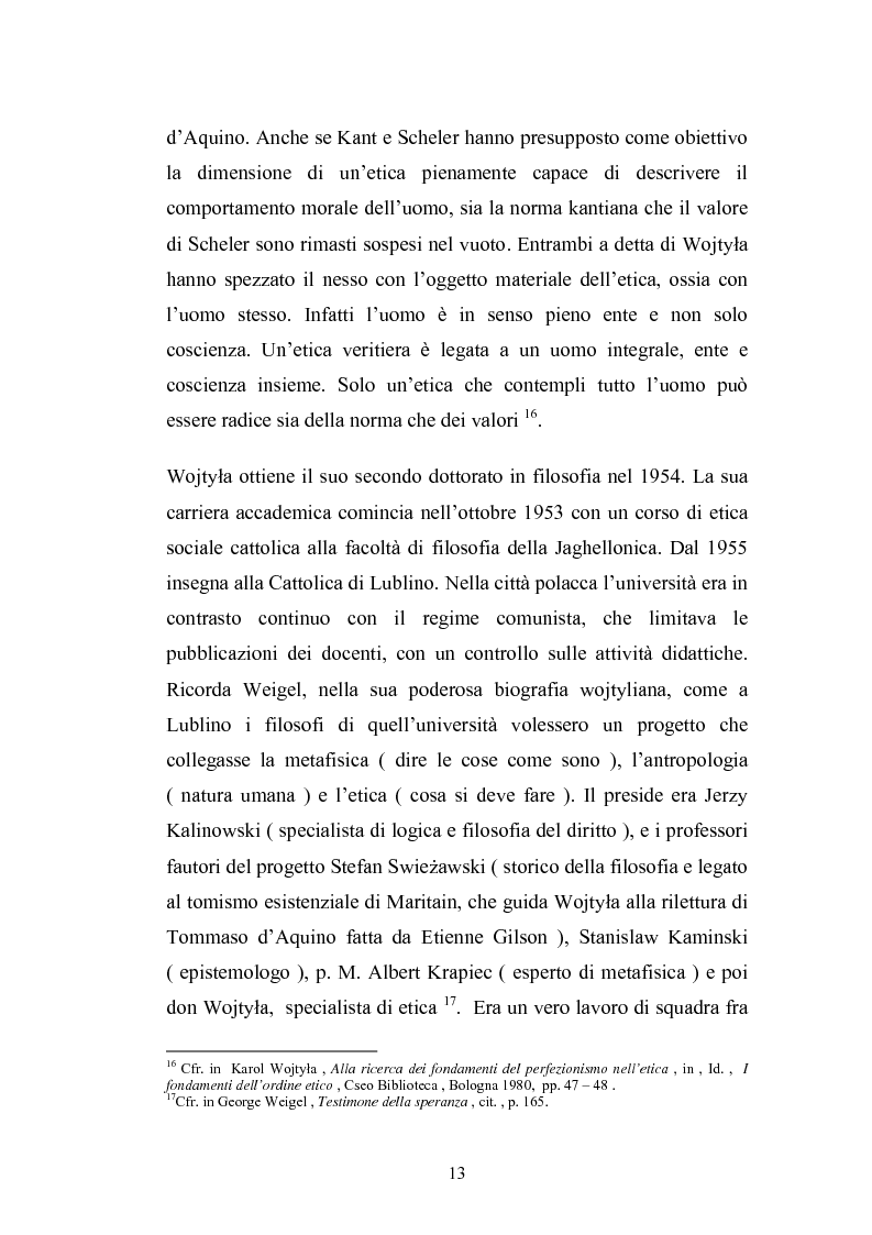 Anteprima della tesi: Karol Wojtyla e la fenomenologia: tra filosofia e teologia, Pagina 10