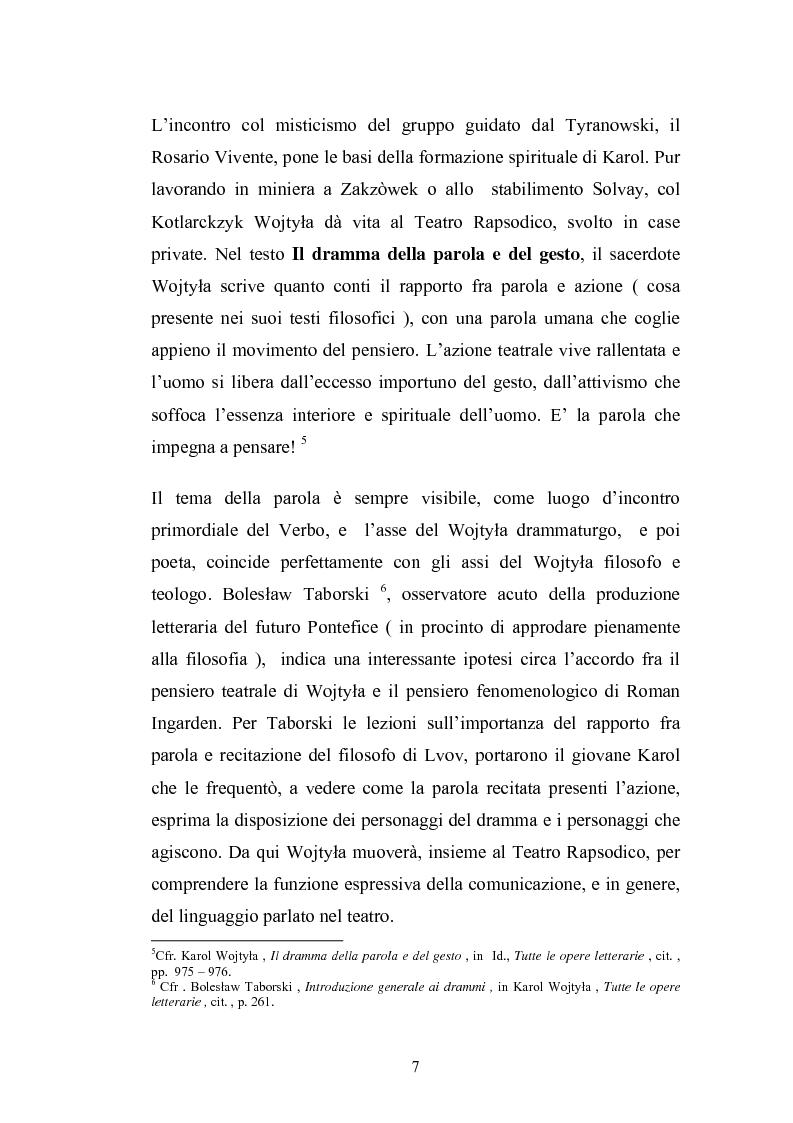 Anteprima della tesi: Karol Wojtyla e la fenomenologia: tra filosofia e teologia, Pagina 4