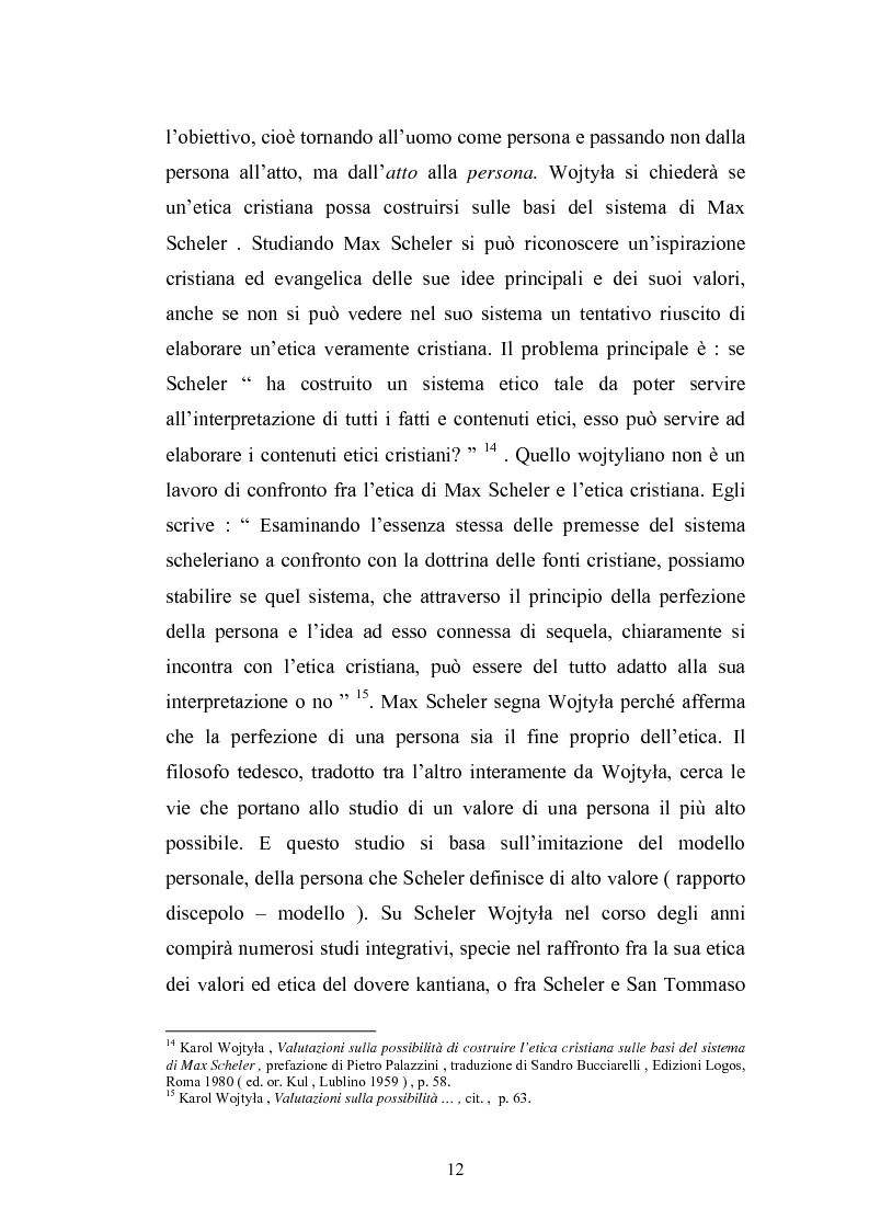 Anteprima della tesi: Karol Wojtyla e la fenomenologia: tra filosofia e teologia, Pagina 9
