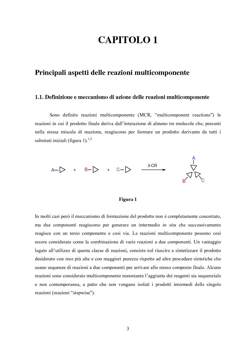 Anteprima della tesi: Sintesi stereoselettive di C-Glicosil β-Amminoacidi, Pagina 1