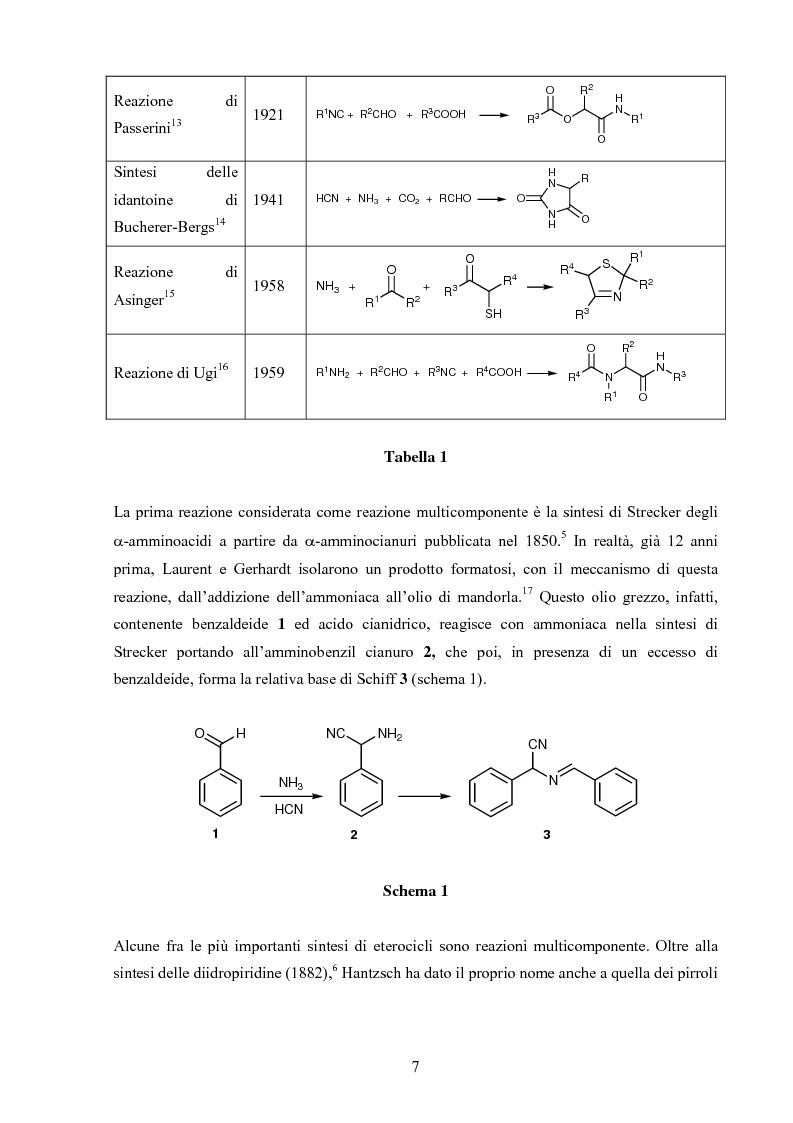 Anteprima della tesi: Sintesi stereoselettive di C-Glicosil β-Amminoacidi, Pagina 5