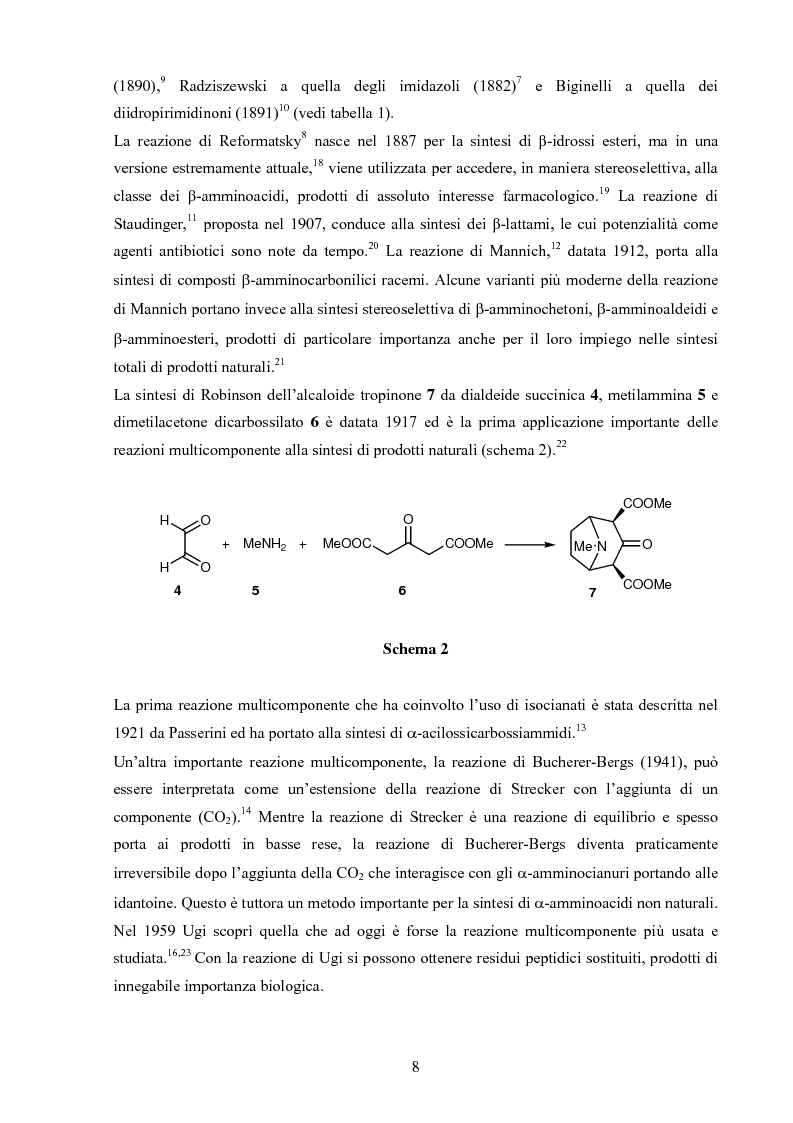 Anteprima della tesi: Sintesi stereoselettive di C-Glicosil β-Amminoacidi, Pagina 6