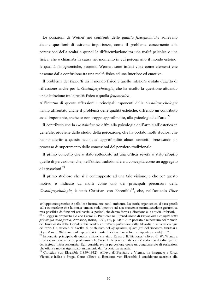 Anteprima della tesi: La regolazione delle emozioni: tra empatia ed arte, Pagina 10