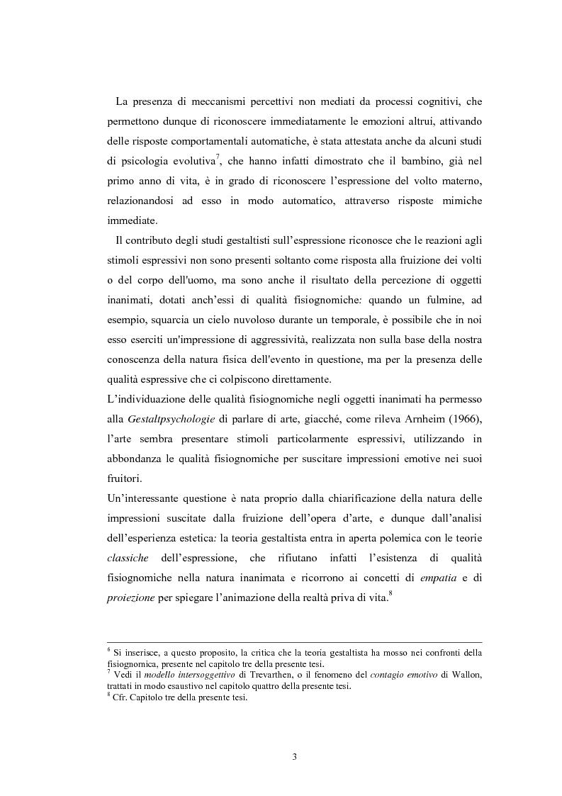 Anteprima della tesi: La regolazione delle emozioni: tra empatia ed arte, Pagina 3