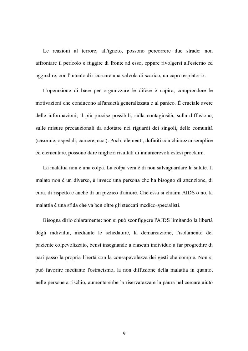 Anteprima della tesi: Rischi sanitari in ambiente penitenziario, Pagina 5