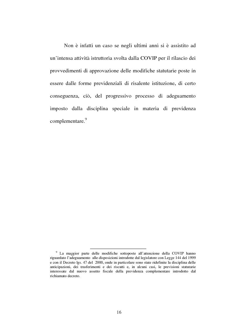 Anteprima della tesi: La previdenza complementare nella giurisprudenza della Corte costituzionale., Pagina 14