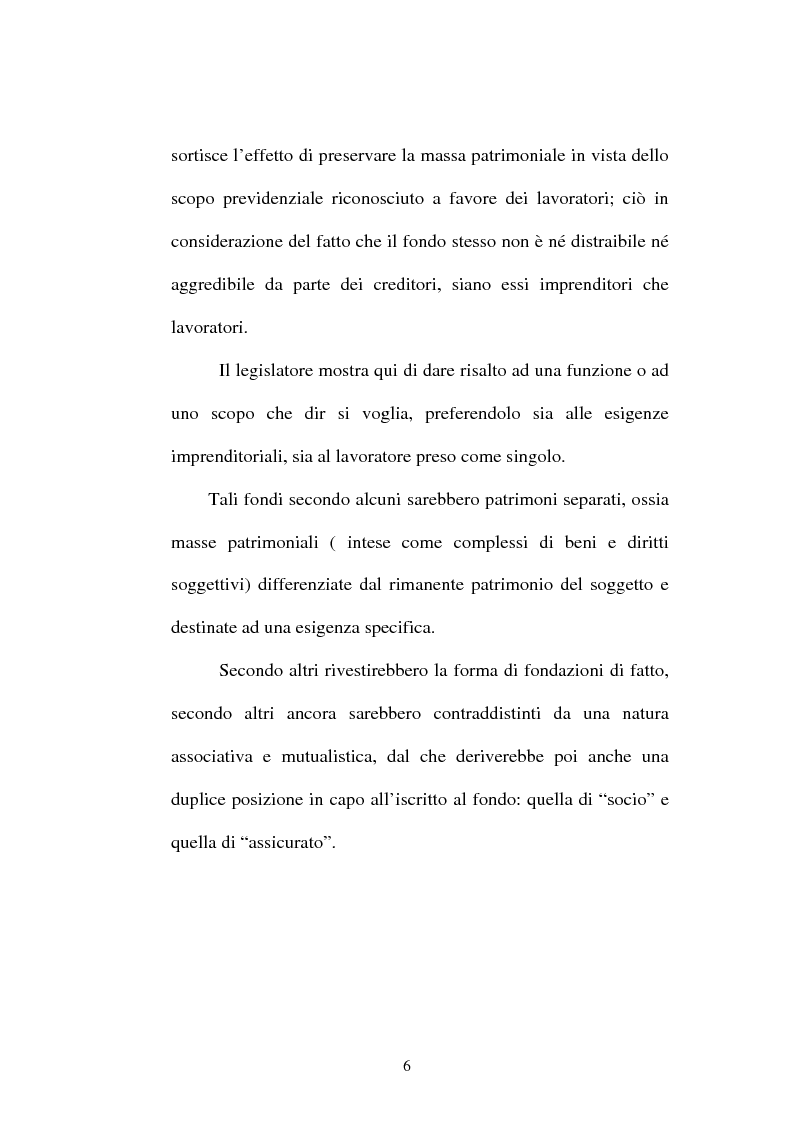 Anteprima della tesi: La previdenza complementare nella giurisprudenza della Corte costituzionale., Pagina 4
