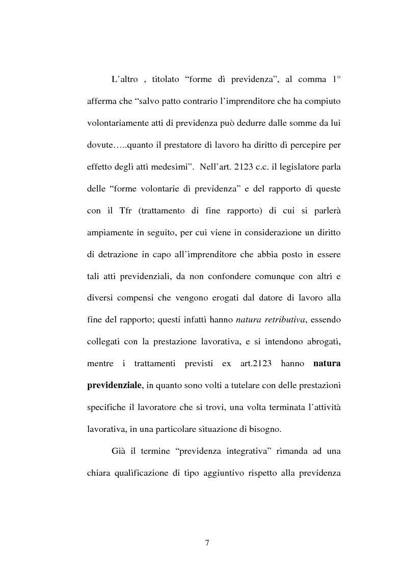 Anteprima della tesi: La previdenza complementare nella giurisprudenza della Corte costituzionale., Pagina 5