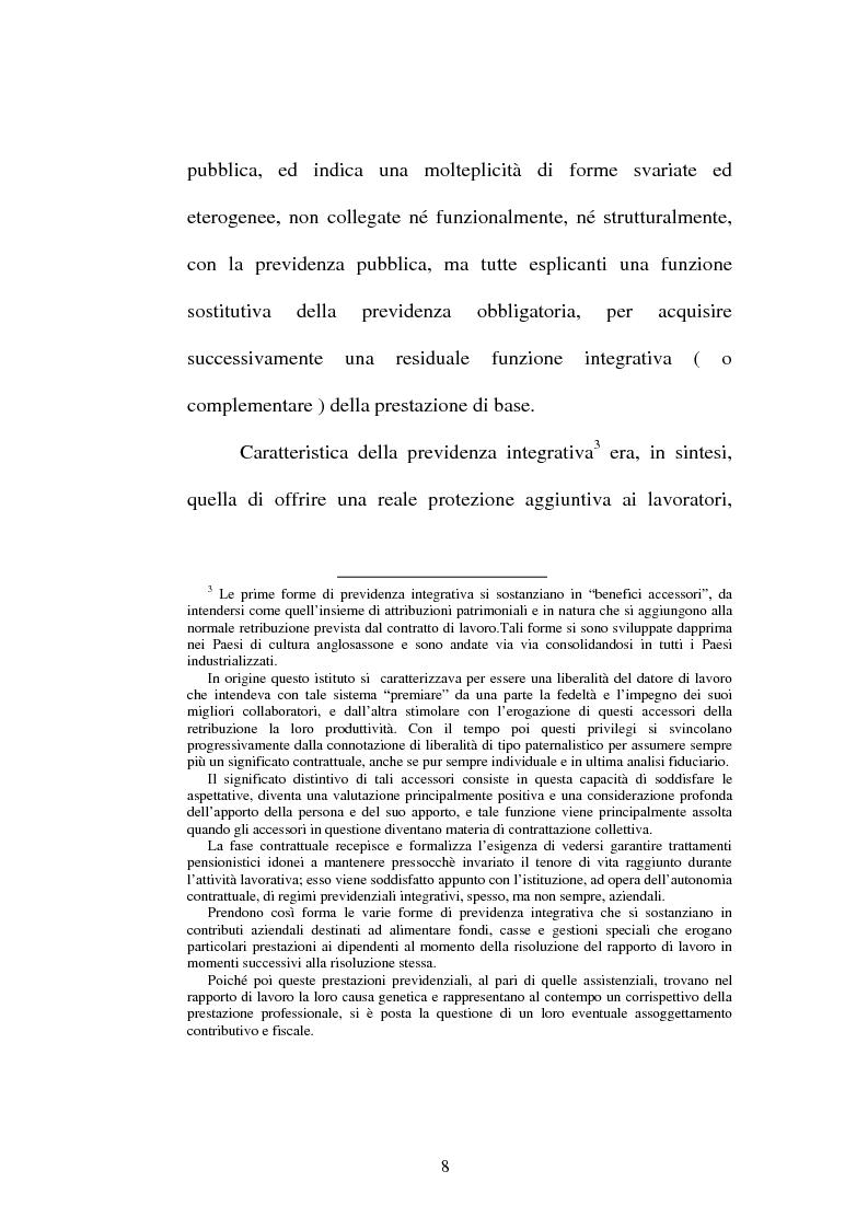 Anteprima della tesi: La previdenza complementare nella giurisprudenza della Corte costituzionale., Pagina 6