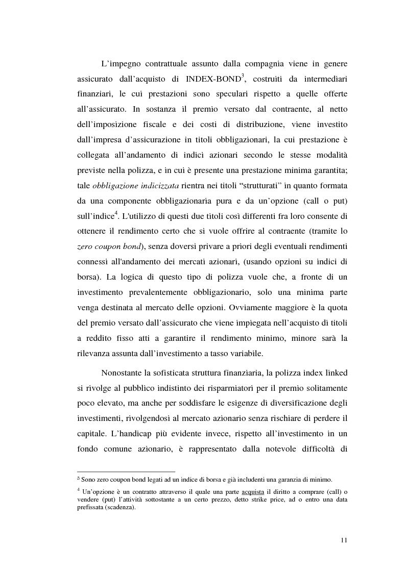 Anteprima della tesi: Modelli attuariali per la valutazione e la gestione delle polizze index-linked, Pagina 11