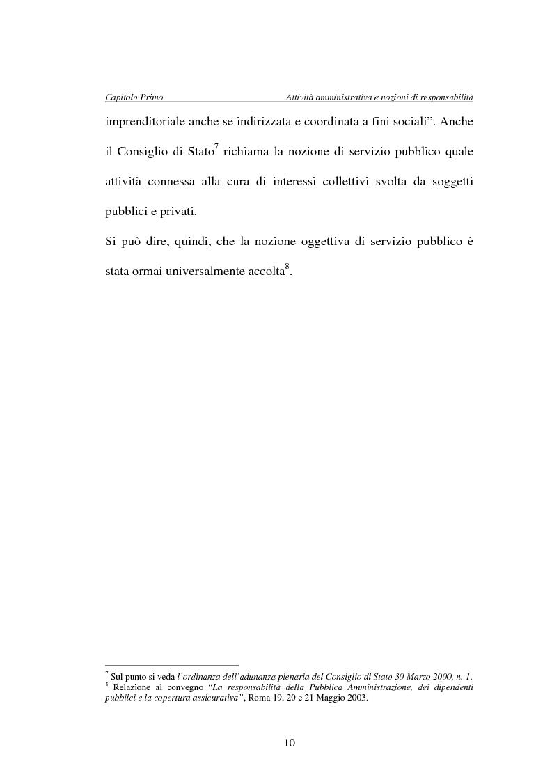 Anteprima della tesi: La responsabilità della Pubblica Amministrazione, dei dipendenti pubblici e la copertura assicurativa nella Sanità, Pagina 10