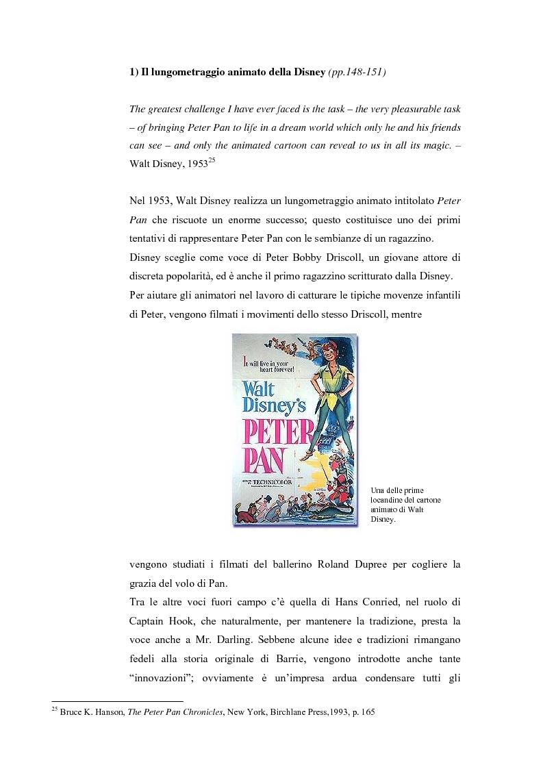 Anteprima della tesi: Peter Pan e la letteratura per l'infanzia, Pagina 10