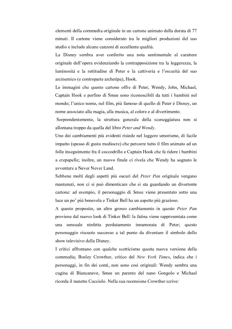 Anteprima della tesi: Peter Pan e la letteratura per l'infanzia, Pagina 11