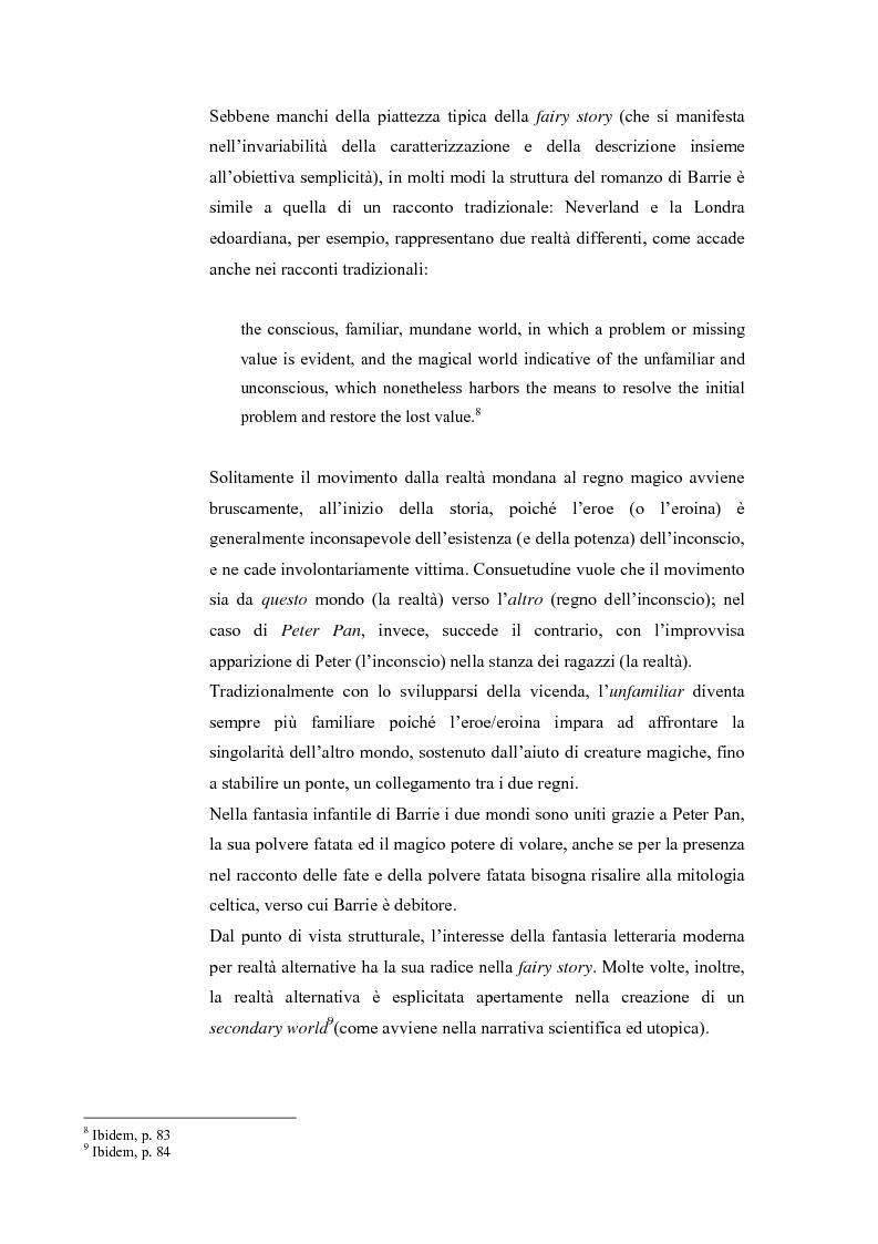Anteprima della tesi: Peter Pan e la letteratura per l'infanzia, Pagina 3