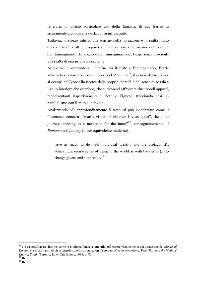 Anteprima della tesi: Peter Pan e la letteratura per l'infanzia, Pagina 5