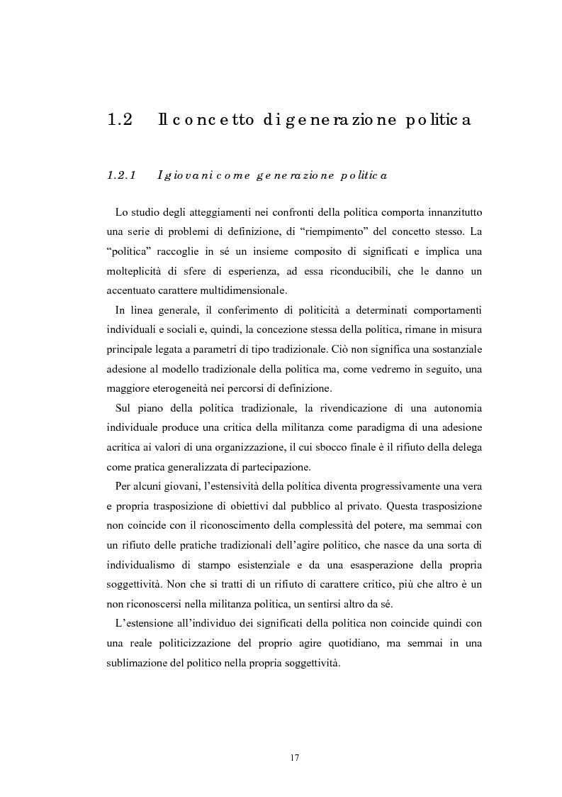 Anteprima della tesi: I giovani e la politica. I/le Giovani Comunisti/e tra movimento e disobbedienza, Pagina 11