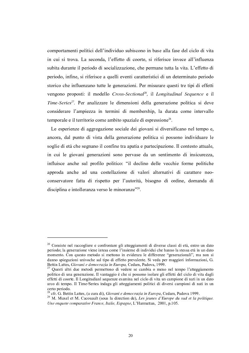 Anteprima della tesi: I giovani e la politica. I/le Giovani Comunisti/e tra movimento e disobbedienza, Pagina 14