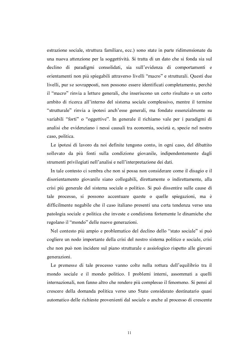 Anteprima della tesi: I giovani e la politica. I/le Giovani Comunisti/e tra movimento e disobbedienza, Pagina 5