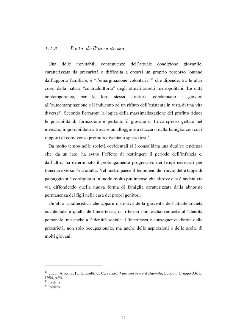 Anteprima della tesi: I giovani e la politica. I/le Giovani Comunisti/e tra movimento e disobbedienza, Pagina 9