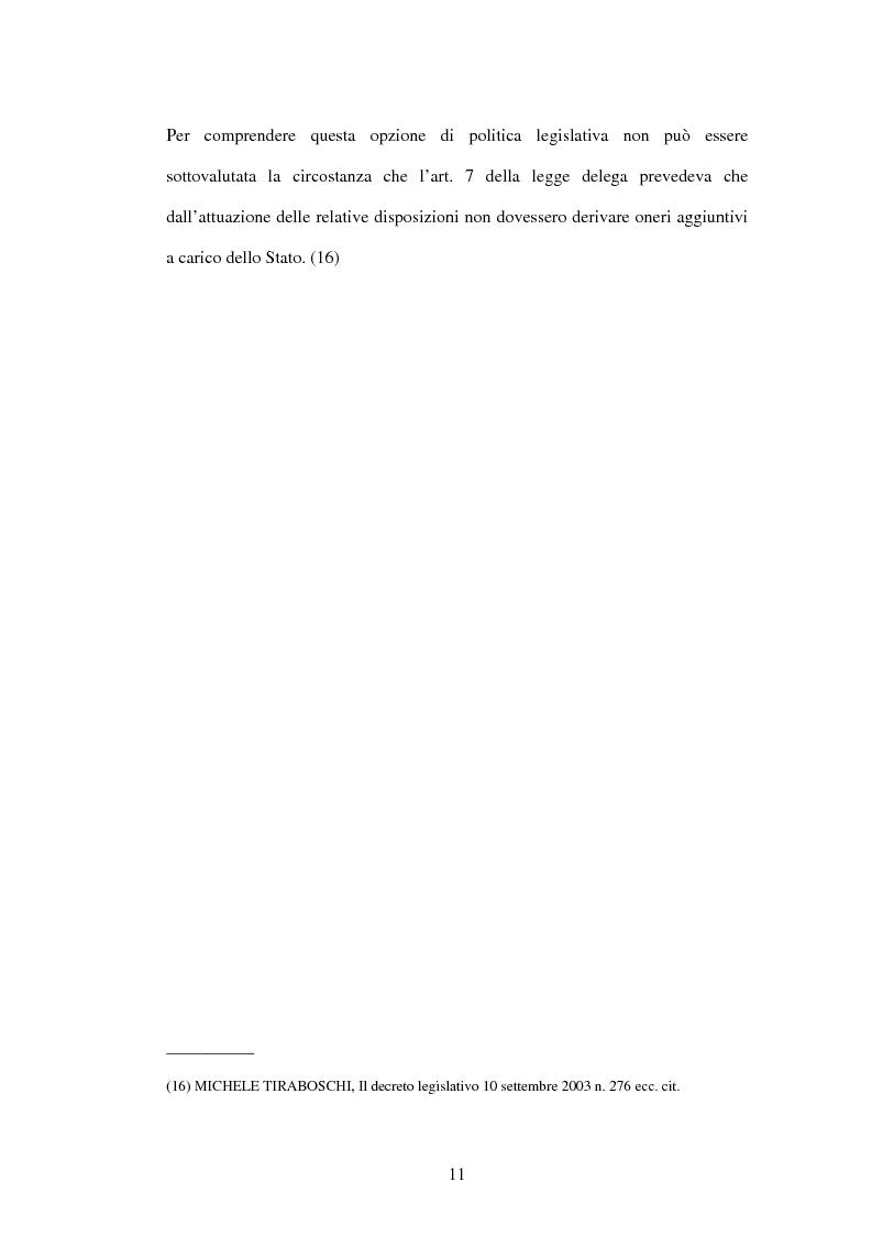 Anteprima della tesi: Mercato del lavoro e tutela del prestatore, Pagina 13