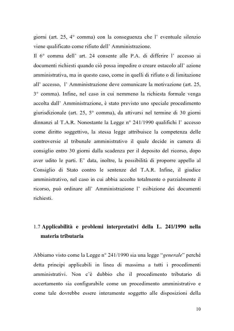 Anteprima della tesi: Italia-Spagna, uno studio di diritto comparato: ''lo Statuto dei diritti del Contribuente con particolare riferimento alla figura del Garante'', Pagina 10