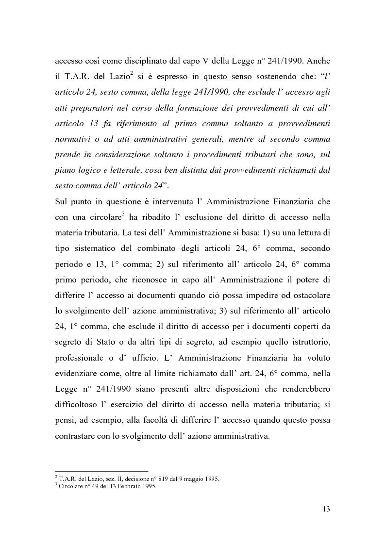 Anteprima della tesi: Italia-Spagna, uno studio di diritto comparato: ''lo Statuto dei diritti del Contribuente con particolare riferimento alla figura del Garante'', Pagina 13