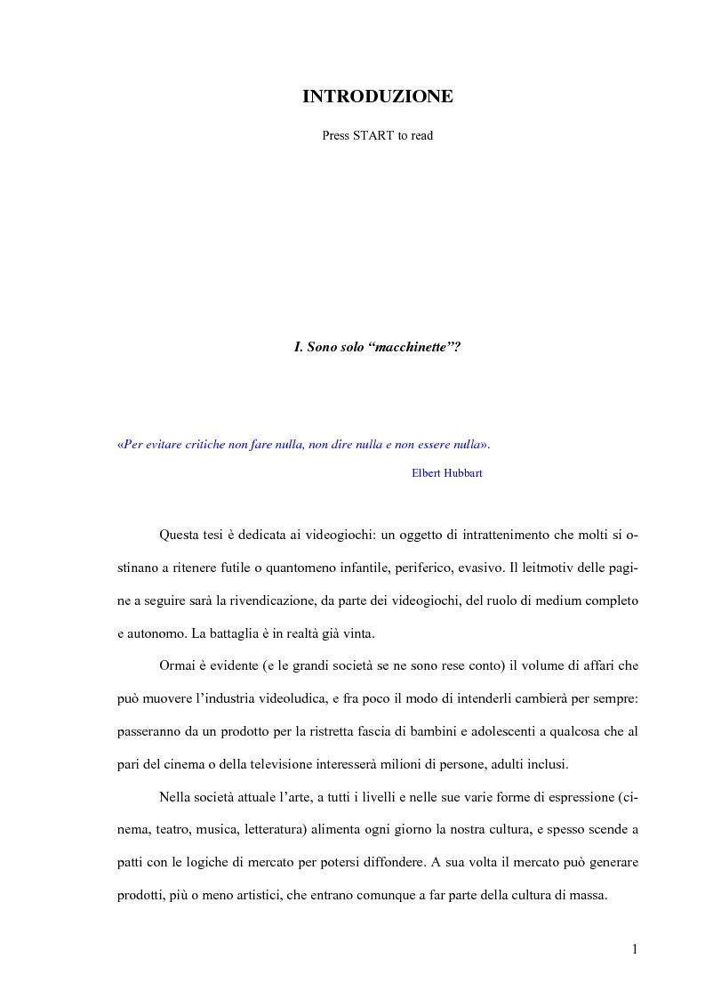Anteprima della tesi: La Decima Arte, Pagina 1