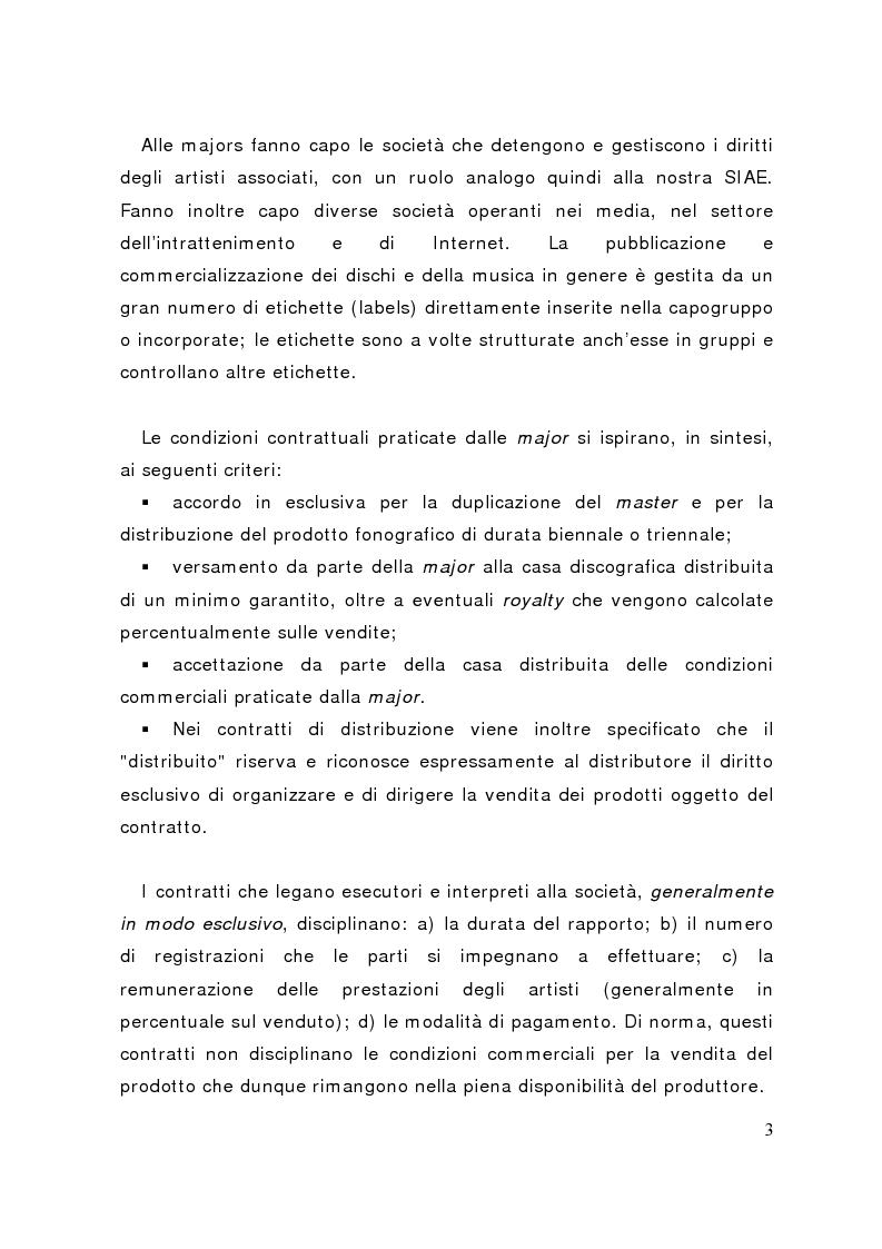 Anteprima della tesi: La distribuzione delle etichette indipendenti: il caso Homesleep, Pagina 2