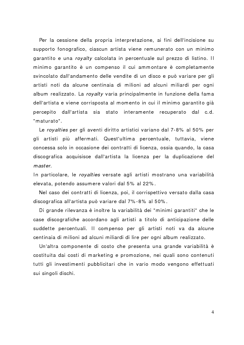 Anteprima della tesi: La distribuzione delle etichette indipendenti: il caso Homesleep, Pagina 3