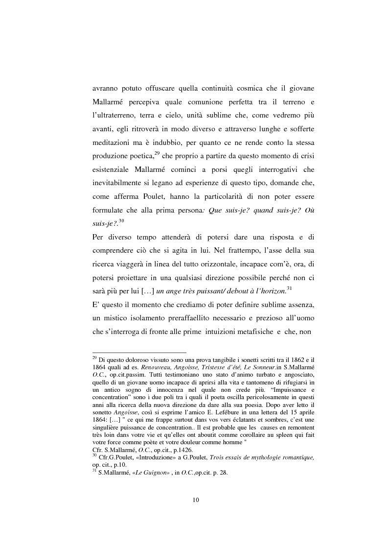 Anteprima della tesi: S. Mallarmé e W.Beckford- La Préface al Vathek, Pagina 10