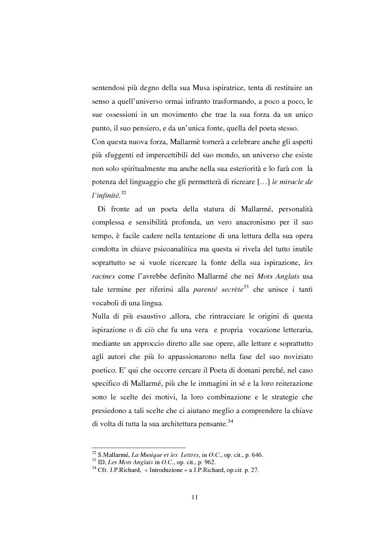 Anteprima della tesi: S. Mallarmé e W.Beckford- La Préface al Vathek, Pagina 11