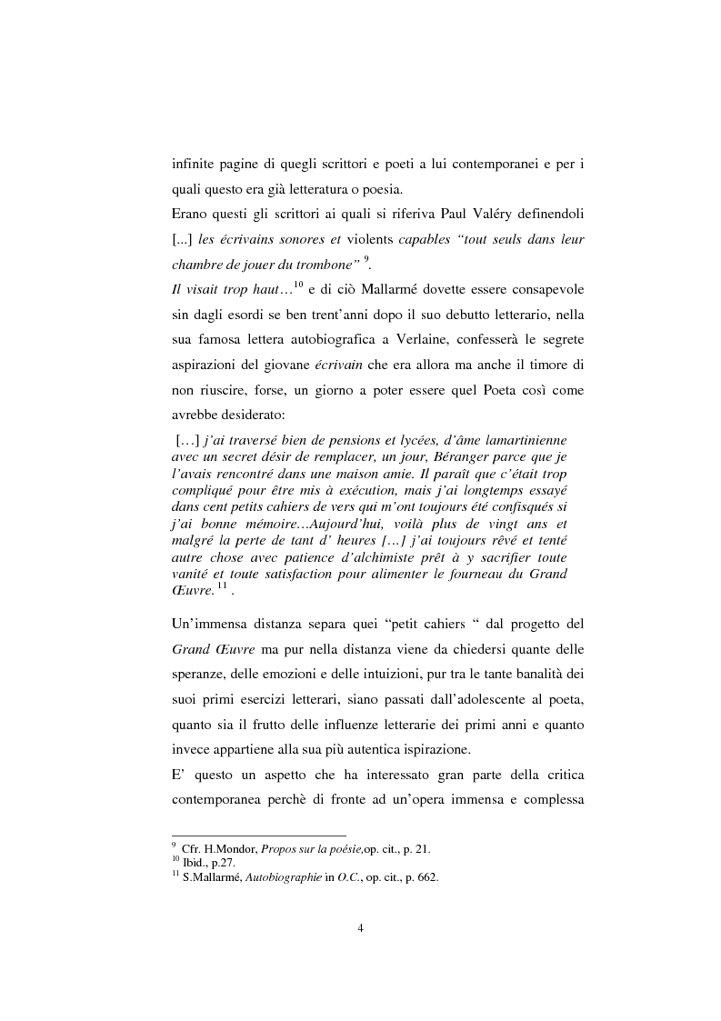 Anteprima della tesi: S. Mallarmé e W.Beckford- La Préface al Vathek, Pagina 4