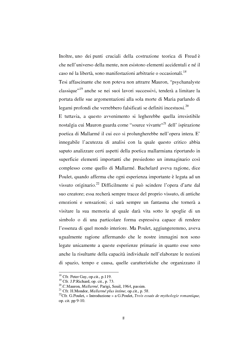 Anteprima della tesi: S. Mallarmé e W.Beckford- La Préface al Vathek, Pagina 8