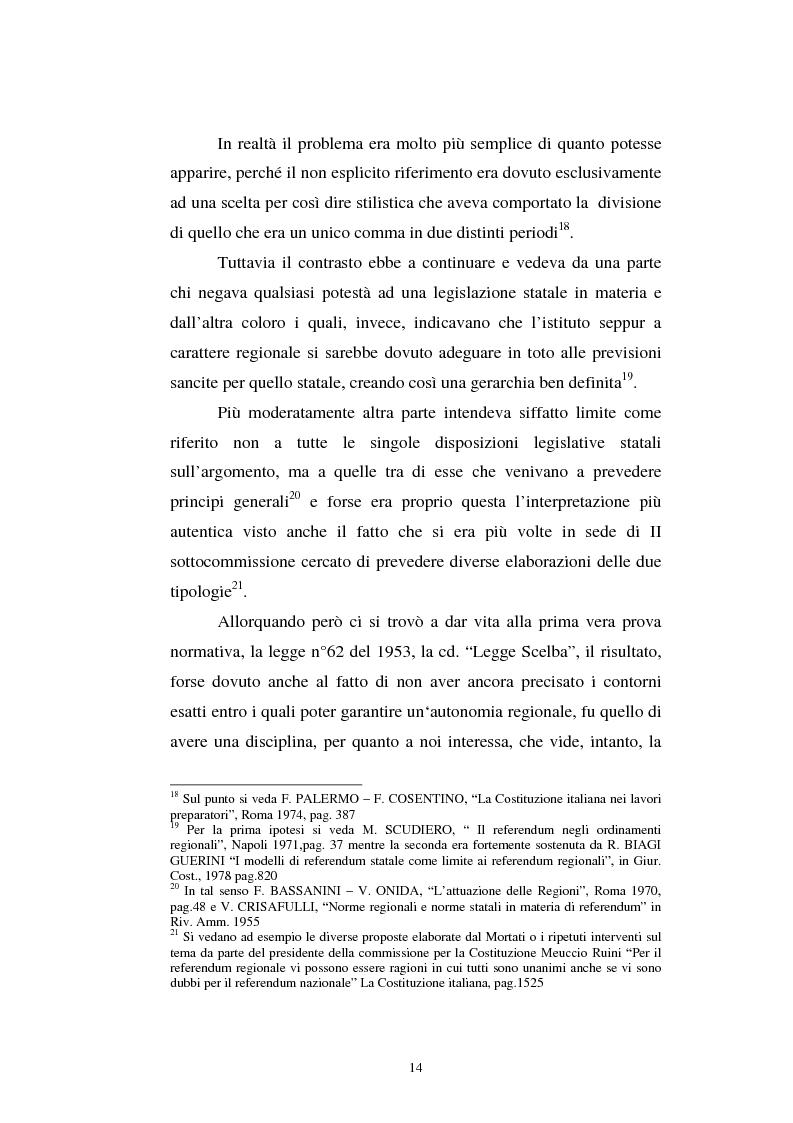 Anteprima della tesi: Il referendum nell'ordinamento regionale, Pagina 12