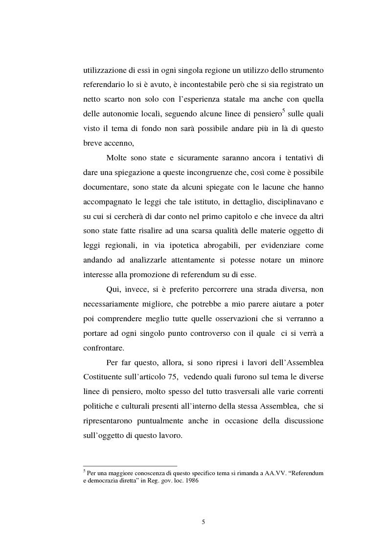 Anteprima della tesi: Il referendum nell'ordinamento regionale, Pagina 3