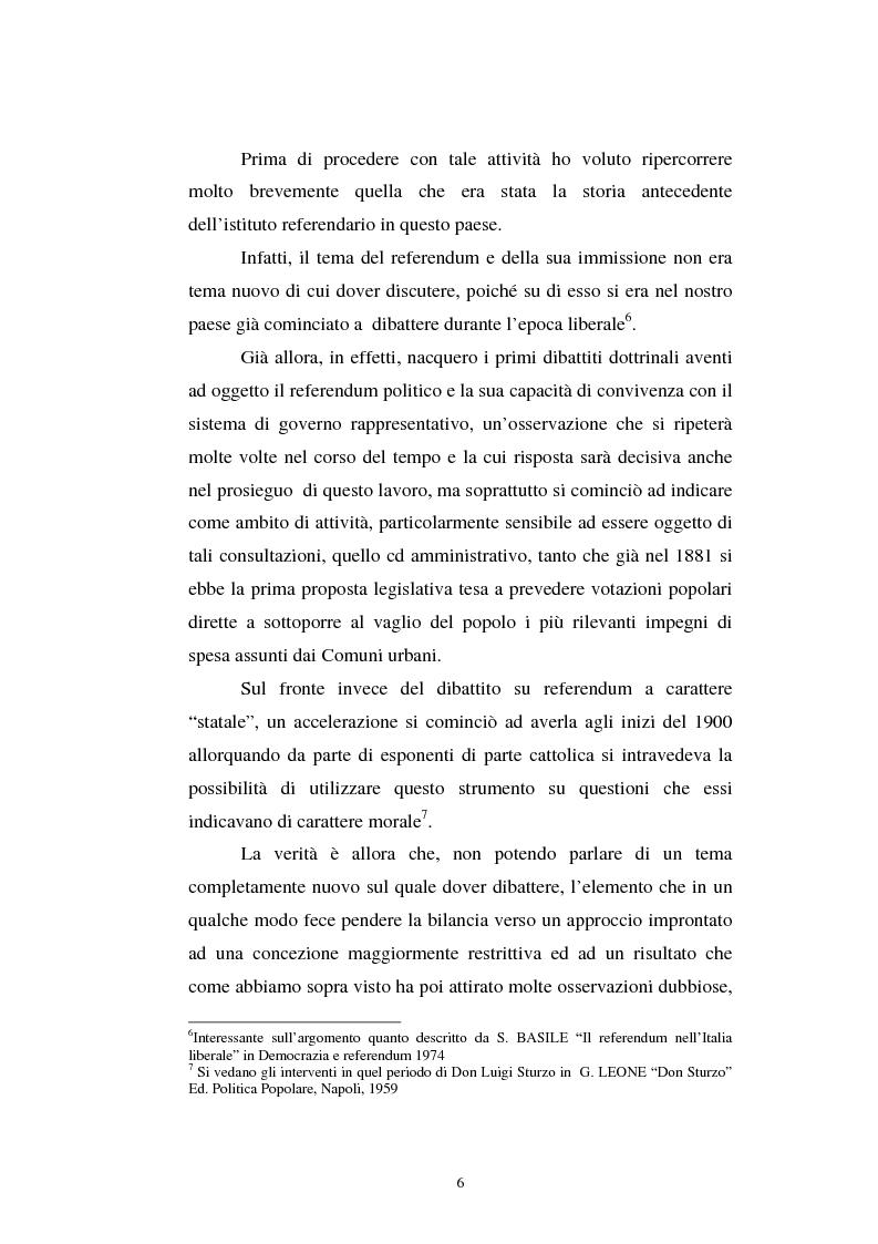 Anteprima della tesi: Il referendum nell'ordinamento regionale, Pagina 4