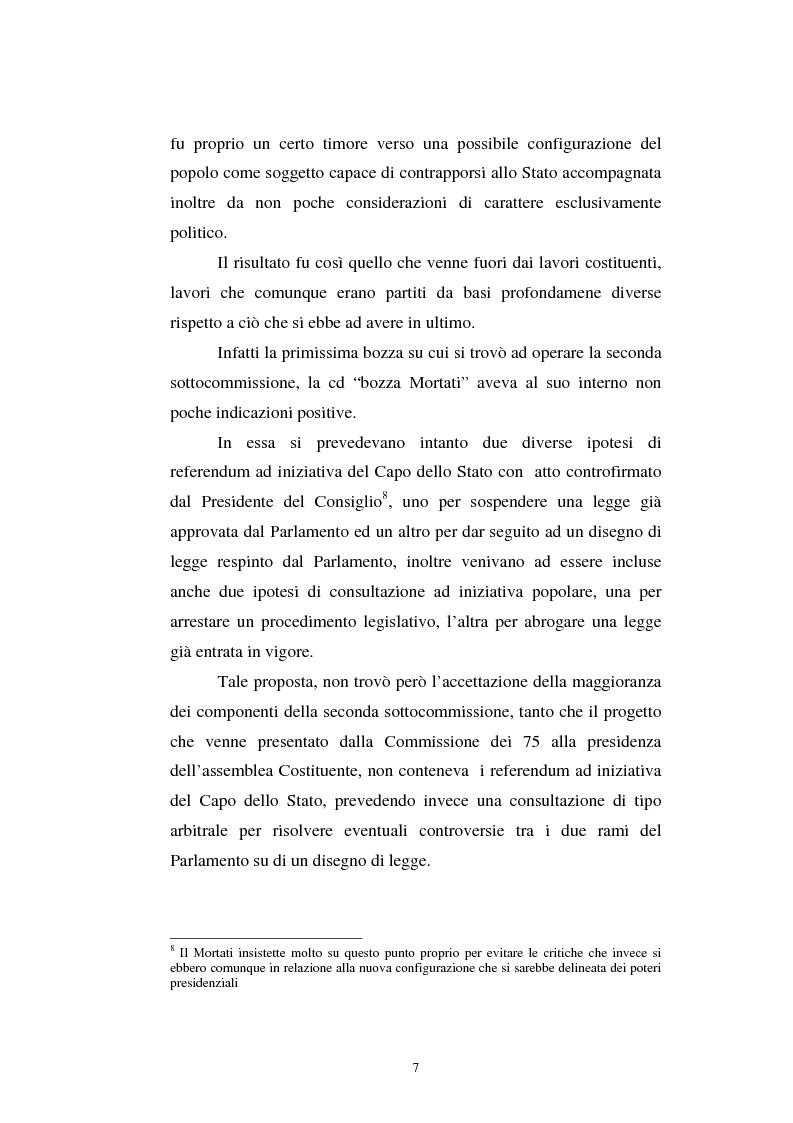 Anteprima della tesi: Il referendum nell'ordinamento regionale, Pagina 5